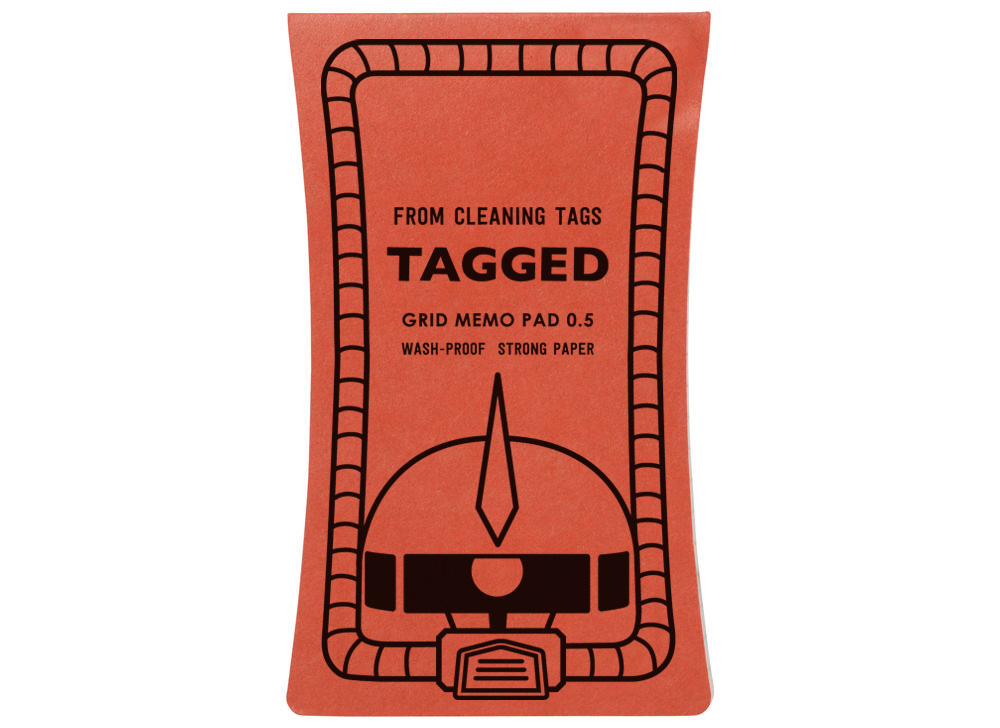 TAGGED MEMO PAD Turn A Gundam